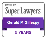 Super Lawyers - Gerald P. Gillespy